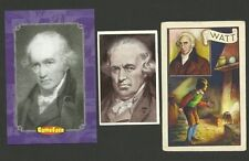 James Watt Steam Engine Scientist Fab Card Collection