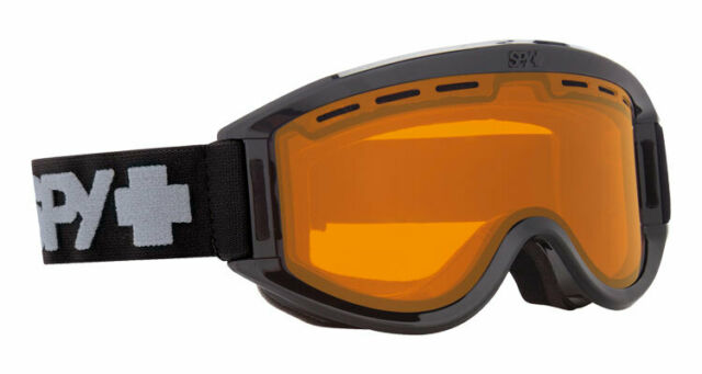 c304a44bfeef Spy Optic Adult Getaway Black Snow Goggles 313162038185 Persimmon ...