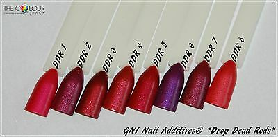 "💅GNI Nail Additives® ""Drop Dead Red""  Suitable for ALL Nail Mediums"