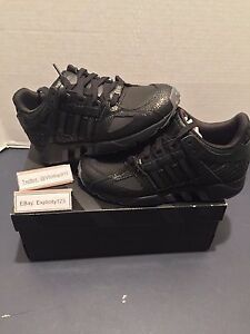 ab1a161a6 ADIDAS X PUSHA T EQT GUIDANCE SZ 5 BLACK MARKET KING PUSH AQ7433 100 ...