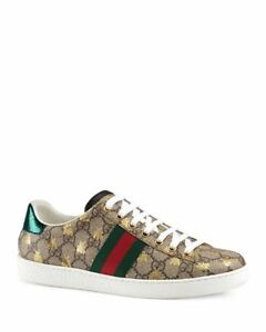 2ff9cfbf7a7 NIB Gucci Women s Ace GG Supreme Sneaker with Bees size 6-11
