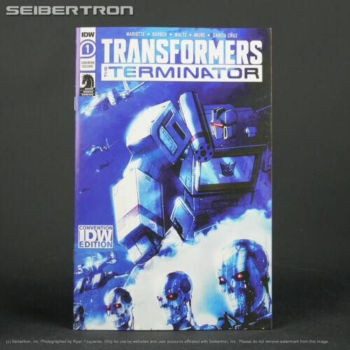 TRANSFORMERS vs TERMINATOR #1 RE Wondercon Convention Exclusive IDW Comics 2020