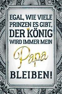 Papa-Mein-Konig-Letrero-de-Metal-Arqueado-Tin-Sign-20-X-30cm-CC0989