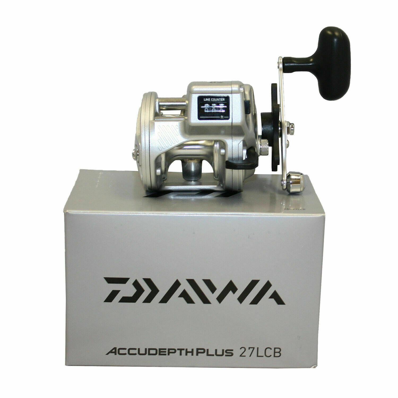 nouveau Daiwa ADP27LCB Accudepth Plus-b Line Counter Reel 1bb 14 300 4.2 1 JAPAN