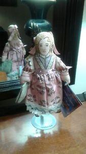 Harriet-Beecher-Stowe-Hallmark-cloth-doll-American-Spirit