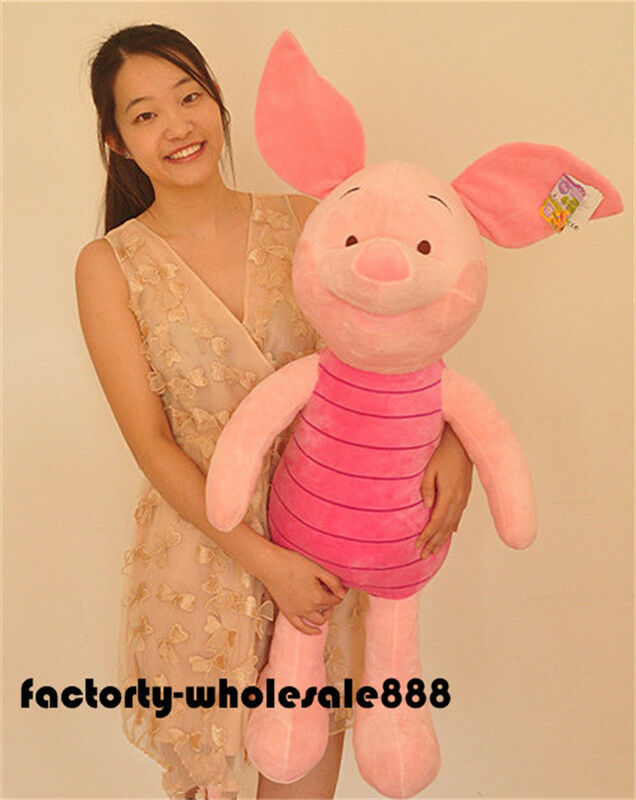 Plush Winnie Official Store The Pooh Piglet Soft Soft Soft Stuffed Doll Toy Kids Gift 41'' 676067