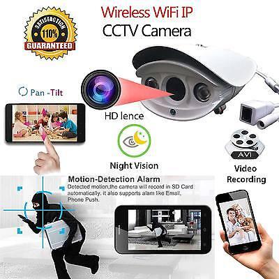 2.0MP Waterproof WiFi 1080P HD IP Camera Home Security Network CCTV Night Vision