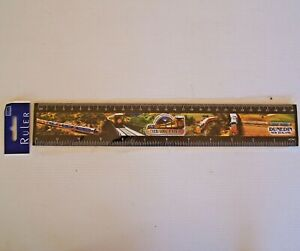 VINTAGE TAIERI GORGE RAILWAY DUNEDIN NEW ZEALAND SOUVENIR PROMO 30cm PHOTO RULER