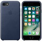 Genuine Apple Leather Case for iPhone 7 Midnight Blue
