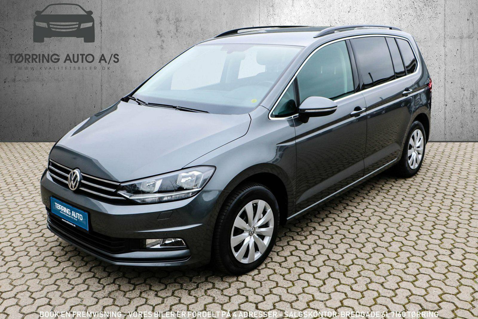 VW Touran 1,6 TDi 115 Comfortline DSG 7prs 5d - 309.900 kr.