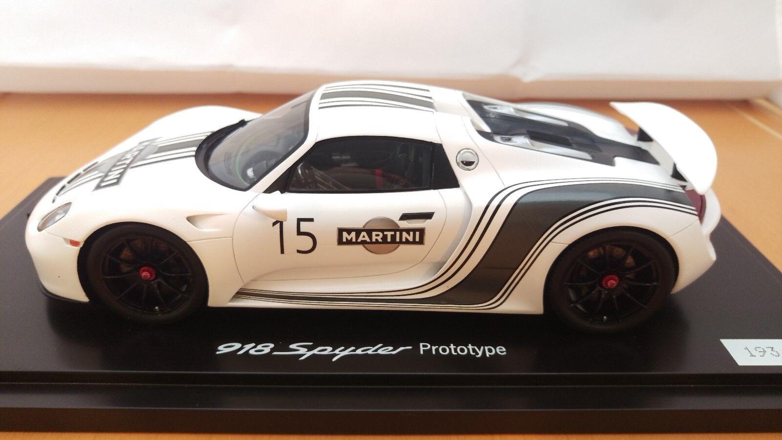 Porsche 918 Spyder 2010 - Projootype - WAP0210220E - Porsche Dealer Edition
