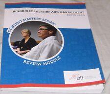 Nursing Leadership and Management Edition 6. 0 (2013, Paperback)