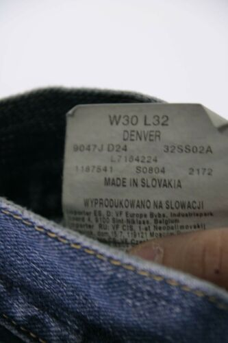 Lee Bootcut Usato D1597 Vintage cod L32 W30 Tg Jeans 44 Denver 44qwr5Z