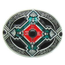 Rodeo Native Indian Celtic Cross Totem Metal Belt Buckle Western Cowboy Cowgirl