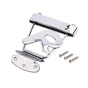 6-String-Guitar-R-Trapeze-Tailpiece-Bridge-for-Archtop-Jazz-Guitar-DIY-Kit