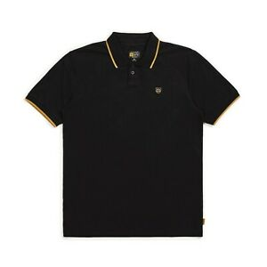 BRIXTON-X-INDEPENDENT-TRUCK-CO-GUARD-S-S-POLO-SHIRT-BLACK