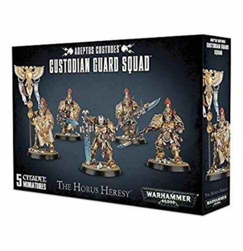 Warhammer 40K Adeptus Custodes Custodian Guard Squad 01-07