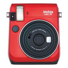 Red Colour FujiFilm Fuji Instax Mini 70 Instant Photos Films Polaroid Camera