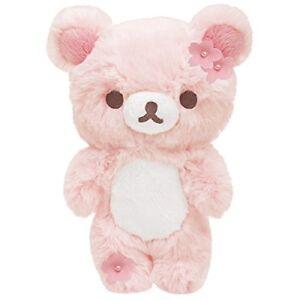 Rilakkuma-Cherry-Blossoms-Rilakkuma-Sherbet-Plush-Toy-S-size-San-X-from-Japan
