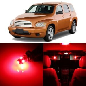 11 X Ultra Red Interior Led Lights Package For 2006 2011 Chevy