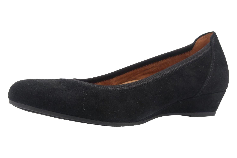 Descuento barato GABOR comfort - Damen Keil-Pumps - Schwarz Schuhe in Übergrößen