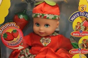 Sensational Kinder Garden Babies Strawberry Scent Baby Doll 2005 Home Interior And Landscaping Eliaenasavecom