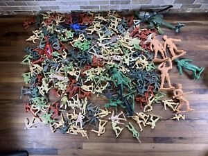 Huge-Lot-Plastic-Toy-Soldier-Men-Bulk-Action-Figures-3-0-Lb