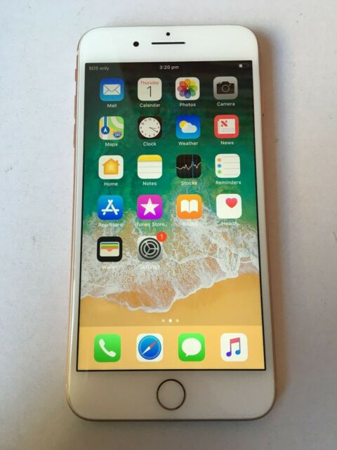 Apple iPhone 8+ 256GB Gold Unlocked A1864 EXCELLENT CONDITION IMEI BLOCK IN AU