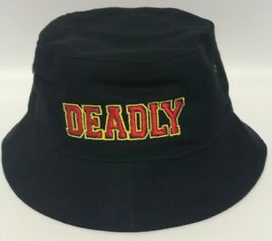 Image is loading Deadly-Embroidered-Aboriginal-Indigenous-Bucket-Hat -INCLUDES-FREE- 8547f1010b3