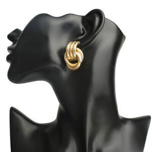Mode-frauen-gold-silber-kreis-aussage-geometrische-baumeln-ohrring-schmuck