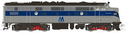 Rapido Trains 15547 n Nueva York Metropolitana de Tránsito EMD FL9  5031 Dc dcc sonido