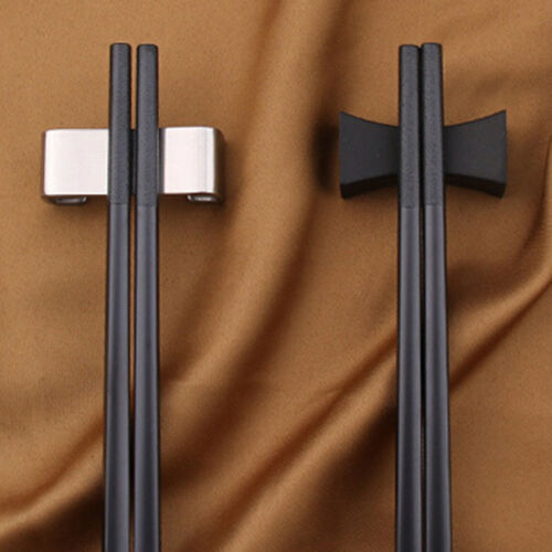1XChinese chopstick rest chopsticks holder spoon stands rack pillows shape ta bk