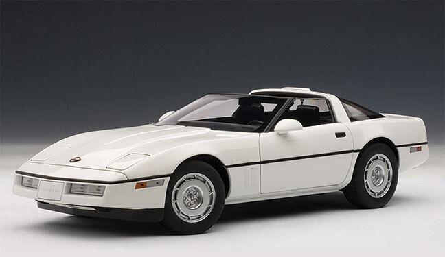 Autoart Diecast Corvette 1986 biancao