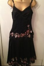 KAREN MILLEN LADIES DRESS TOP & SKIRT SIZE 10- 12 A RARE FIND TOTAL SELL OUT