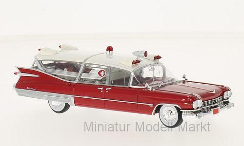 45260 - Neo Cadillac s&s SUPERIOR-Ambulance -  1959 - 1 43  marque célèbre