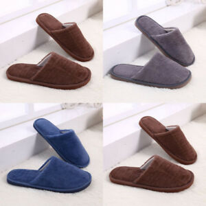 a3b5196e75 Image is loading Men-Women-Indoor-House-Winter-Slippers-Hotel-Guest-