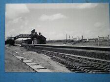PHOTO  GWR AFON WEN  RAILWAY STATION IN 1965