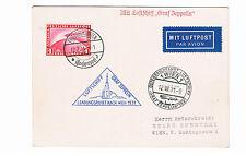 Luftschiff Graf Zeppelin, Österreichfahrt - Landungsfahrt Wien 1931, 1 RM- Karte