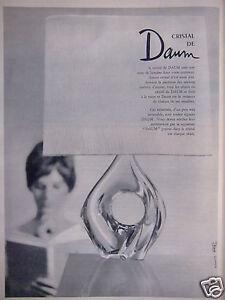 PUBLICITE-1961-CRISTAL-DE-DAUM-GRAVE-DANS-LE-CRISTAL-ADVERTISING