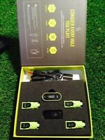Ti.ttle Golf Swing Analyser 4 Cradle Model Excellent,distance,tempo,gps Etc