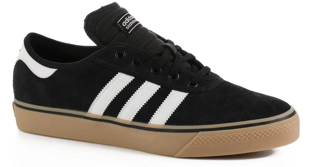 Adidas Adi Ease Premiere Chaussures De Skate Noir/blanc/gomme F37319 $70
