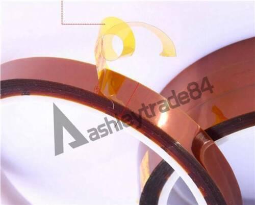 33M  3mm-15 mm 100ft High Temperature Heat Resistant Polyimide Kapton Tape EC
