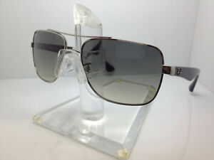 9482c92ab1 NEW RAY BAN RB 3483 003 32 RAYBAN SUNGLASSES SILVER GRADIENT LENS