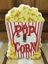Pop Corn light Switch Cover Movie Theater Home Tv Wall Switch