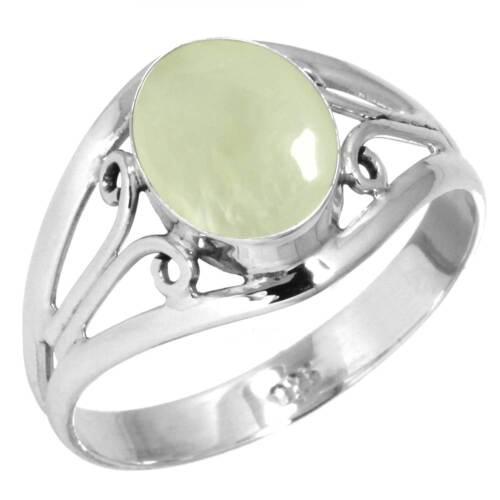925 Sterling Silver Gemstone Ring Women Jewelry Size 5 6 7 8 9 10 11 12 13 xE372