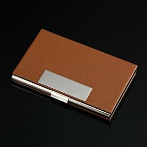 Elegant whiskey chic business card holder name card case ebay image is loading elegant whiskey chic business card holder name card colourmoves