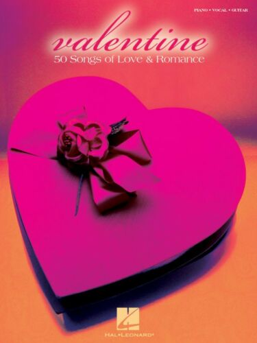 Valentine Sheet Music 50 Songs of Love and Romance Piano Vocal Guitar 000310977