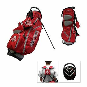 Image Is Loading Ohio State University Team Golf Buckeyes Stand Bag