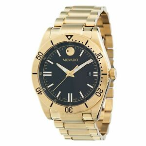 Movado 0607436 Men's Movado Sport  Gold-Tone Quartz Watch