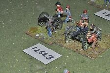 25mm american civil war ACW confederate 2 guns & crews (12523)